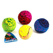 3 x Mayfield Tennis Balls Mix Colours - Pack of 4