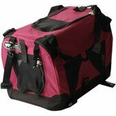Petzden Canvas Fold Flat Cat Carrier 43x20x29cm