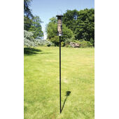 C J Wildlife Garden Pole Black