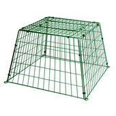 C J Wildlife Ground Guard Large Mesh Green
