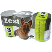 8 x Zest For Working Dogs (3 pack) 400g
