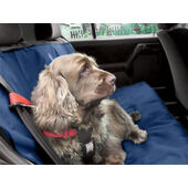 Danish Designs Navy Car Seat Cover For Dogs 140cm x 115cm