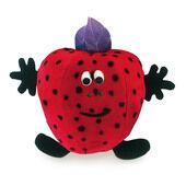 3 x Petlove 'fruit Salad Softees' Suzy Strawberry