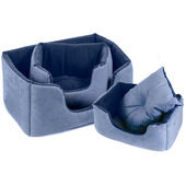 Cosipet Chelsea Comfy Dog Bed - Blue