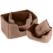 Cosipet Chelsea Comfy Bed Chocolate Brown