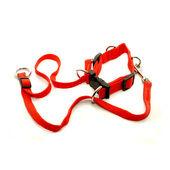 Vital Pet Products Nylon Gentledog Harness Red