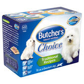 3 x Butcher's Choice Traditional Recipes Multipack 12x150g
