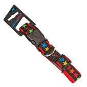 Hem & Boo Star Adjustable Collar Black