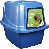 Van Ness Enclosed Cat Litter Tray Large