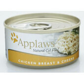 24 x Applaws Cat Can Chicken & Cheese 156g