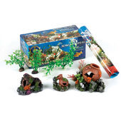 Classic Sunken Treasure Aquarium Starter Kit