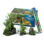 Classic Bamboo Garden Aquarium Starter Kit