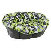Ferplast Removable Padded Sofa Cushion - Lime Green Camo