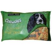 Chewdles Bonibix Bones Assorted Mini 1.5kg