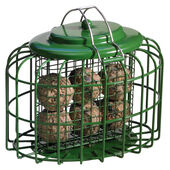 The Nuttery Oval Fatball Feeder Ocean Green