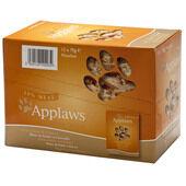 12 x Applaws Cat Pouch Chicken & Pumpkin 70g