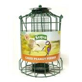 Supa Caged Peanut Feeder 25cm (10\