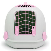 Igloo 2 In 1 Cat Loo & Carrier Polar Pink