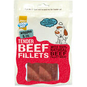 10 x Good Boy Waggles & Co Tender Beef Fillets 90g