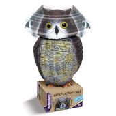 STV International Defenders Wind Action Owl Decoy