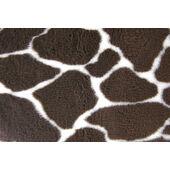 Non Slip Vetbed Brown Giraffe Print