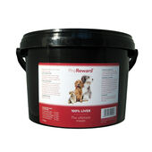 Thrive Proreward 100% Liver Dog Treats Bulk Tub 500g