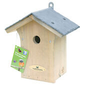 C J Wildlife Portland Slate Roof Nest Box Hole (fsc) 28mm