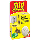 The Big Cheese Sonic Mouse & Rat Repeller Pk3