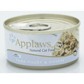 24 x Applaws Cat Can Tuna & Cheese 156g