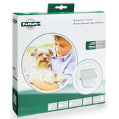 Staywell Deluxe Manual 4 Way Locking Cat Flap White