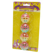HappyPet Fun At The Fair Multiball Bird Toy