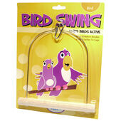 HappyPet Wooden Bird Swing