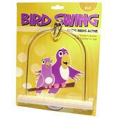 HappyPet Wooden Bird Swing
