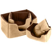 Cosipet Chelsea Comfy Dog Bed - Tan
