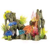 Classic Coral Life Driftwood Garden With Air 330mm
