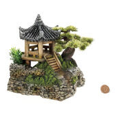 Classic Magic Of The Orient Pagoda House & Plants 210mm