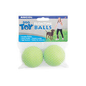 6 x Ancol Floating Balls Assorted 6cm