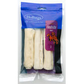 30 x Hollings Natural White Rawhide Cigars