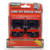 Pest Stop Sure Set Mousetrap 2pack