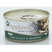 24 x Applaws Cat Can Tuna & Seaweed 156g