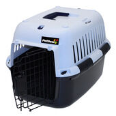 PetGear Black Plastic Pet Carrier