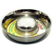 Classic Super Prem S/steel Non Tip Slow Feeder 1700ml (240mm Dia)