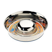 Classic Super Prem Stainless Steel Non Tip Slow Feeder 2600ml (280mm Dia)