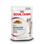 Royal Canin Instinctive Adult Cat Food Jelly Pouch 12 x 85g