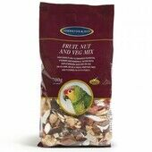 6 x Johnston & Jeff Cage Bird Fruit Nut And Veg Mix 700g