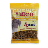 14 x Antos Mini Bones Chicken Training Treat 200g