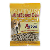50 x Antos Mini Bones Lamb Training Treat 200g