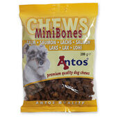 14 x Antos Mini Bones Salmon Training Treat 200g