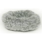 Danish Design Fluffy Grey Cushion Cat Bed 51cm (20