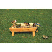 C J Wildlife Square Feeding Table Ground (fsc)